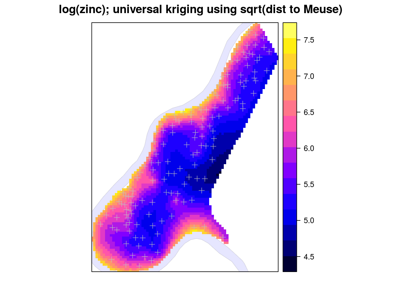 deac kriging Kriging is an efficient statistical approach for interpolation of scattered data kriging is a popular interpolation and regression method, originally applied in geostatistics.