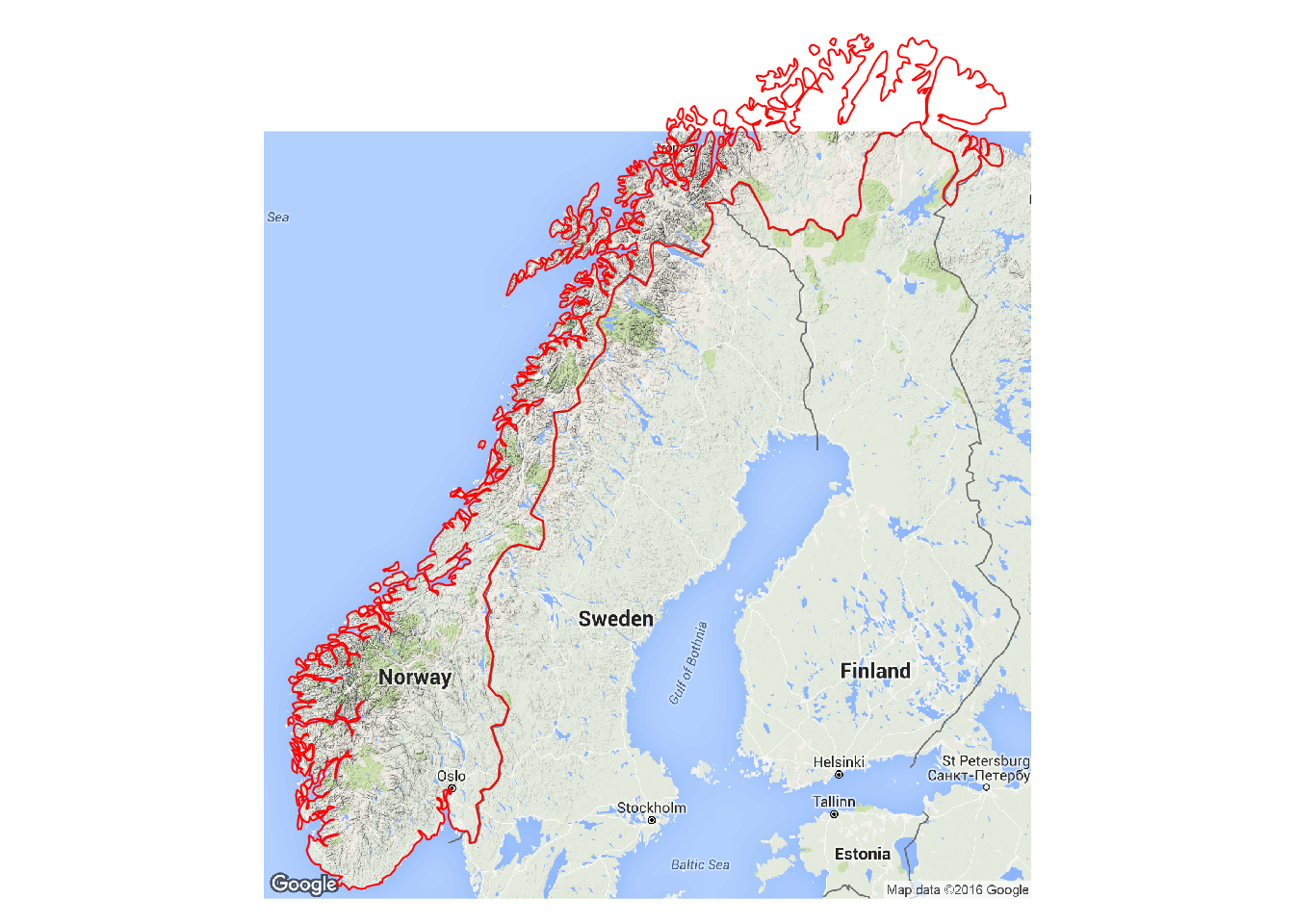 Sp Gallery - Norway map data